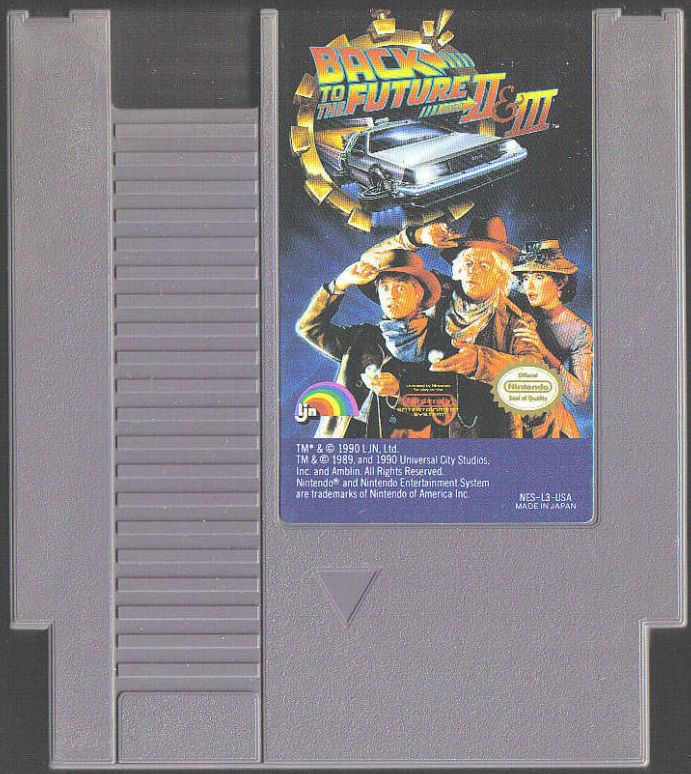 BTTF 2 and 3 game