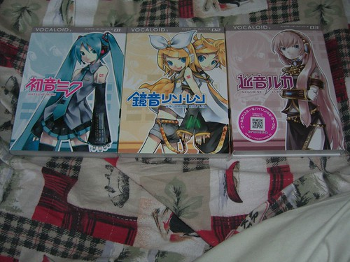 All three Vocaloids