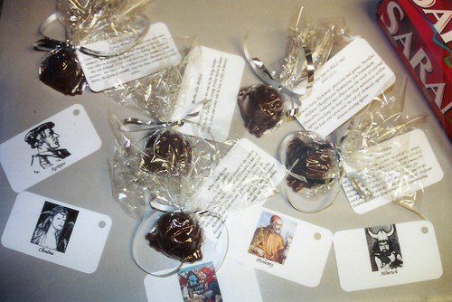 harry potter party party favors choc frogs