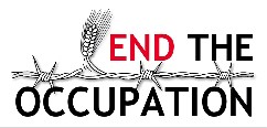 end the occupation banner ad