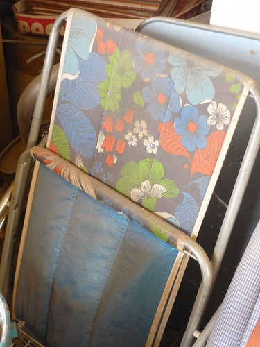 An old garden chair