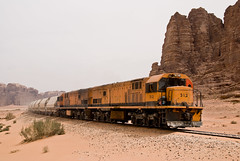 The Wadi Rum train, Jordan
