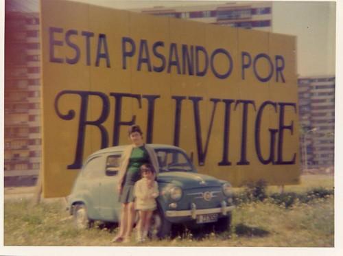 Inicios del barrio de Bellvitge