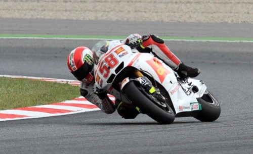Marco Simoncelli. Gran Premi de Catalunya. MotoGP
