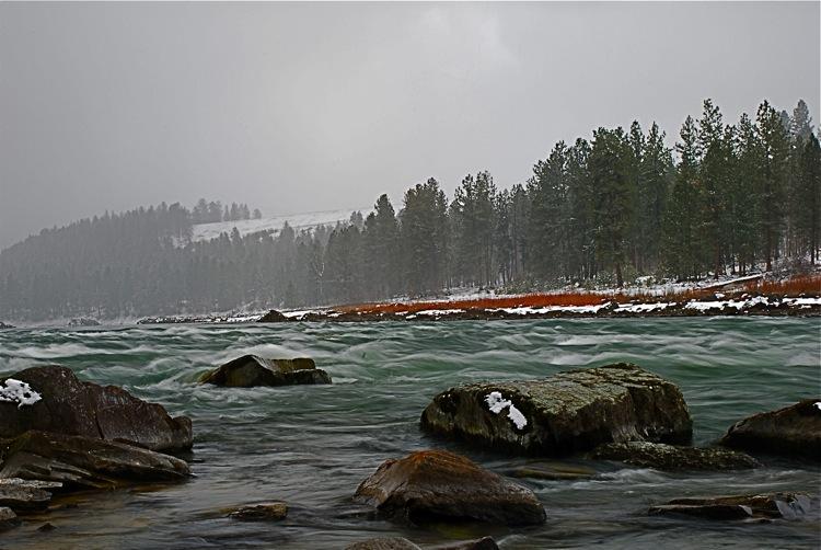 Rapids on the Clark Fork