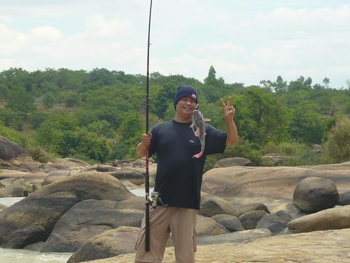 Niềm vui câu được cá