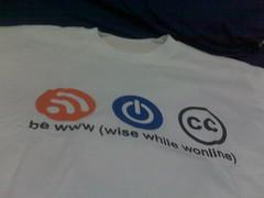 Kaos dari Internet Sehat Community Gathering