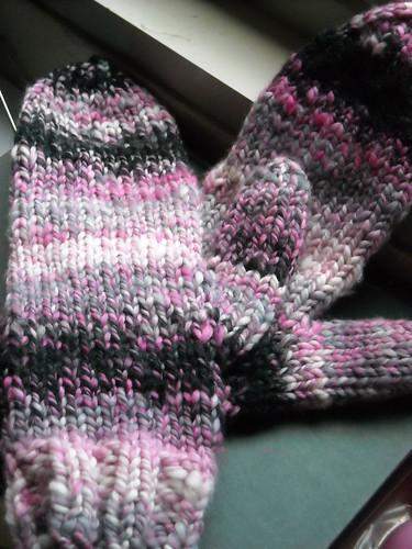 Pretty Pirate mittens