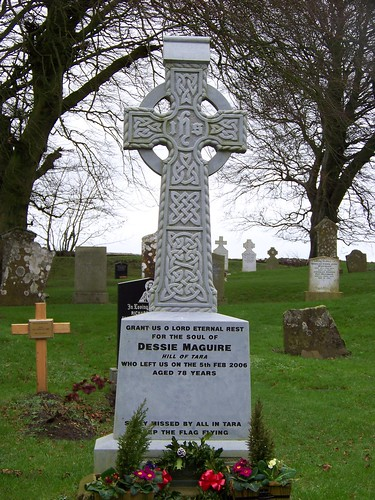 Maguire Tombstone on the Hill of Tara