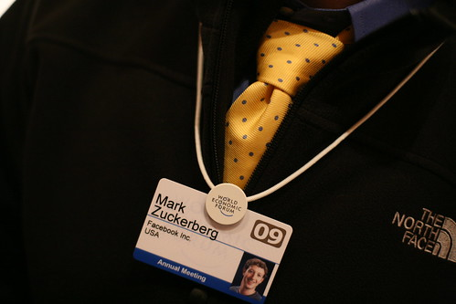 Mark Zuckerberg's Tie
