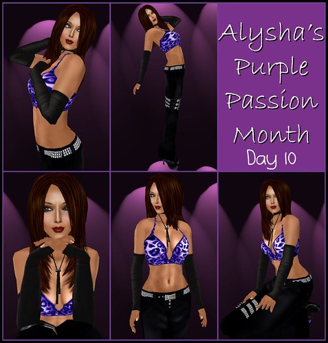 ALY'S PURPLE PASSION MONTH:  DAY 10