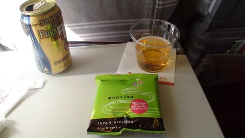 Premium Beer on JAL