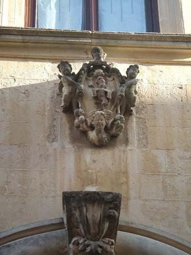 Il pozzo di palazzo della Ratta a Lecce (Foto di Valentina Antonucci)