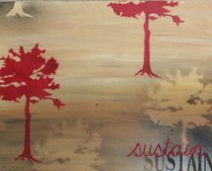 Sustain I (16x20) $85