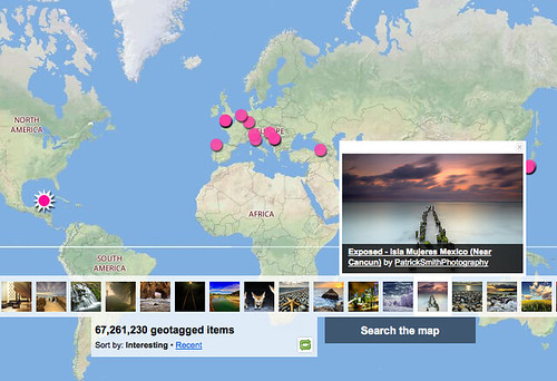 Flickr: Explore everyone's photos on a Map