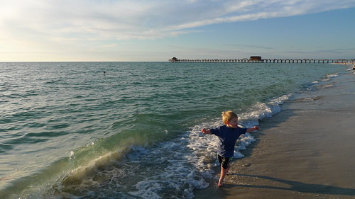 Running Along the Waves