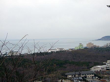 奥の院からの眺め~瀬波温泉
