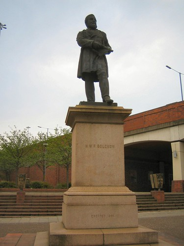 Bolckow Statue, Middlesbrough