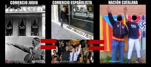 Triunfo del Socialismo Nacional en Cataluña
