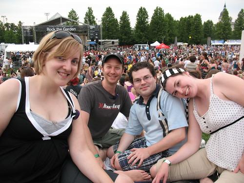 Me, Mikey, Noah and Kristi