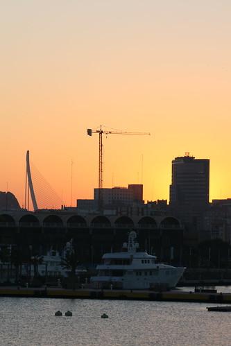 Valencia's Setting Sun