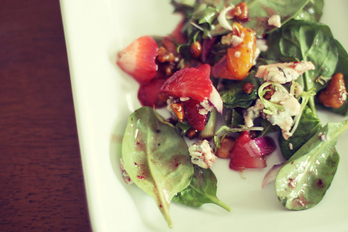 strawberry salad (by Leaca's Philosophy)