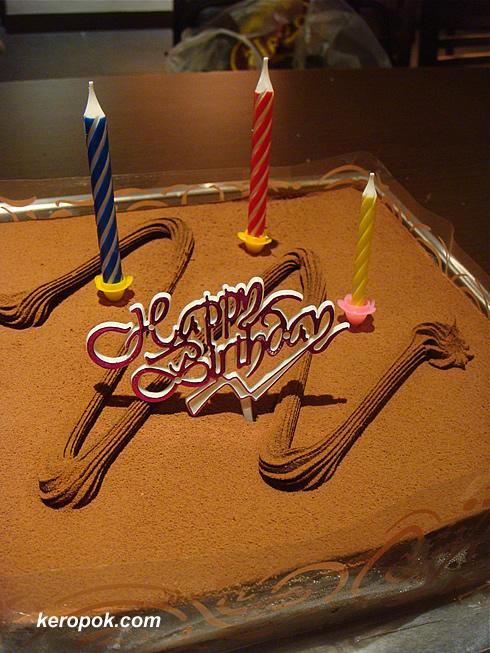 Alvin and Anthea's Birthday Cake