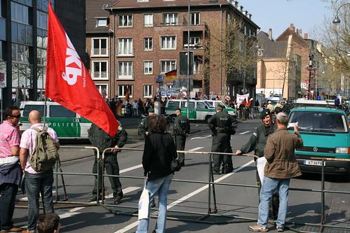 Demo vor der Ehrenfelder Moschee