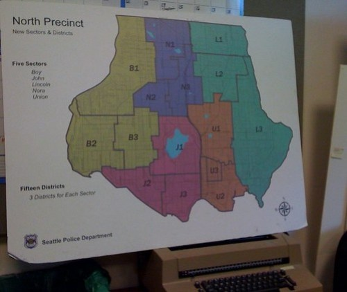 North Precinct Map