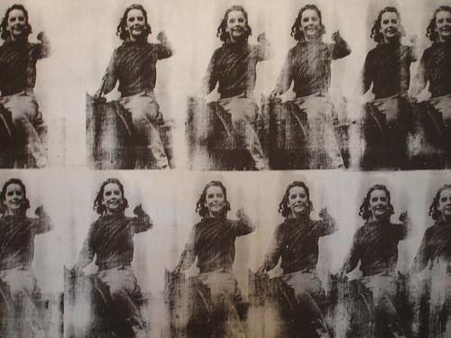 Elizabeth Taylor - Warhol by BeckySnyder.