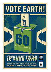 Vote Earth Image By Shepard Fairey for Earth H...