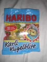 Haribo Karli Kugelblitz