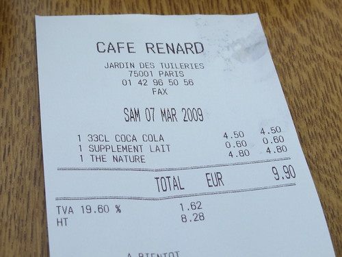 EXPENSIVE Cafe in Paris