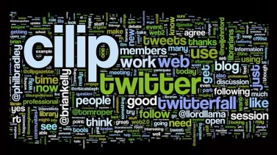 #cilip2 Wordle cloud
