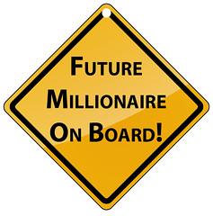 Future Millionaire on Board (Update) by Enkhtuvshin