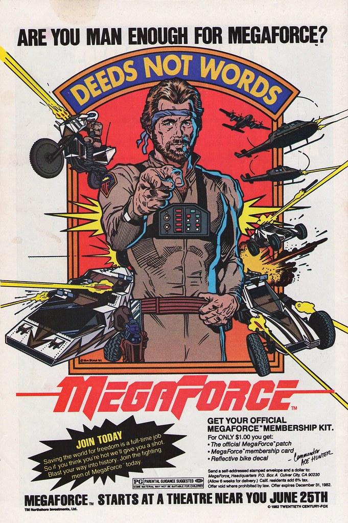 MegaForce ad