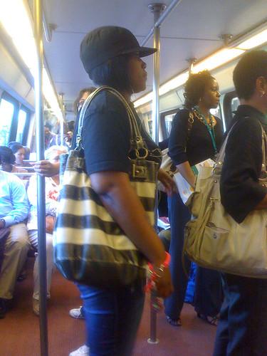 Metro Rider - Taken With An iPhone