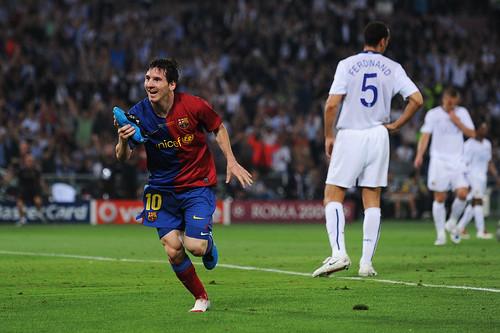 Lionel Messi festeja