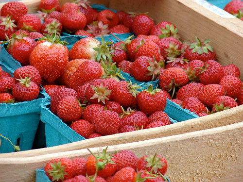 Cooks Valley Farm strawberries