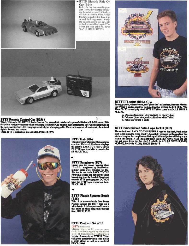 BTTF Merchandise pg 2
