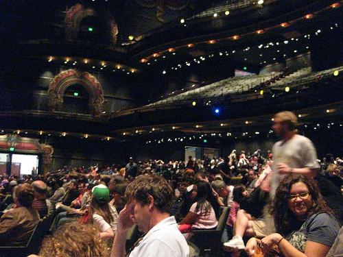 Its a big theater.