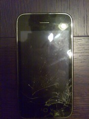 iPhone Cracked Screen 1