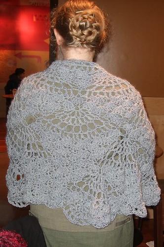 worn shawl