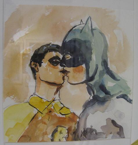 """Scenes from Mark Chamberlain """"Queer Batman"""""""