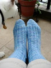 I love, love, love this yarn.