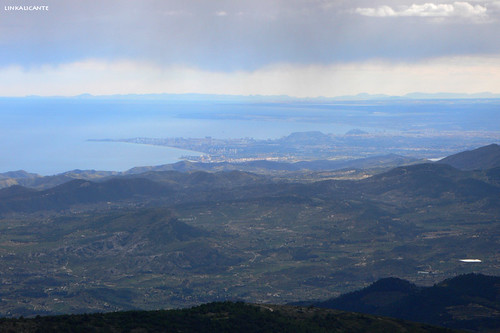 Alicante desde Aitana