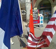 Vor der Befreiungsparty in Jena