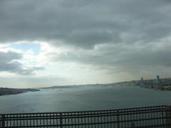Istanbul from the Bosphorus Bridge