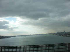 Istanbul from the Bosphorus Bridge
