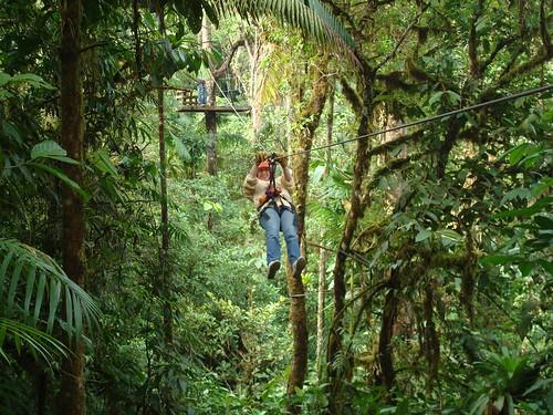 Costa Rica - Denise Canopy Rides